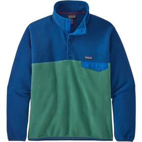 Patagonia Lightweight Synch Snap-T Pullover EU Fit Hombre, eelgrass green